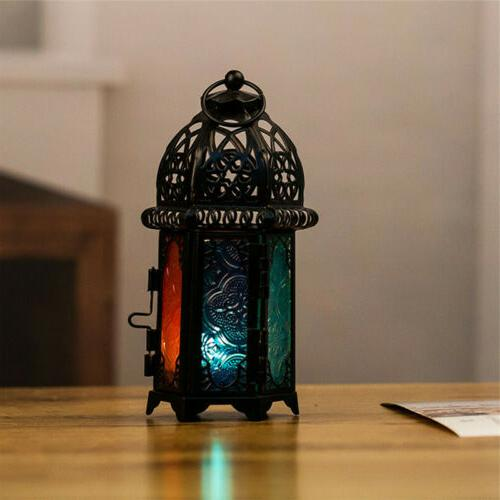 Moroccan Lamp Candle Home