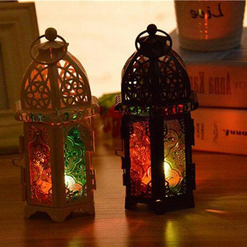 Moroccan Lantern Tea Light Lamp Votive Hanging