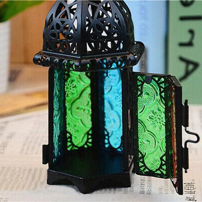 Moroccan Lamp Votive Candle Hanging Home Decor