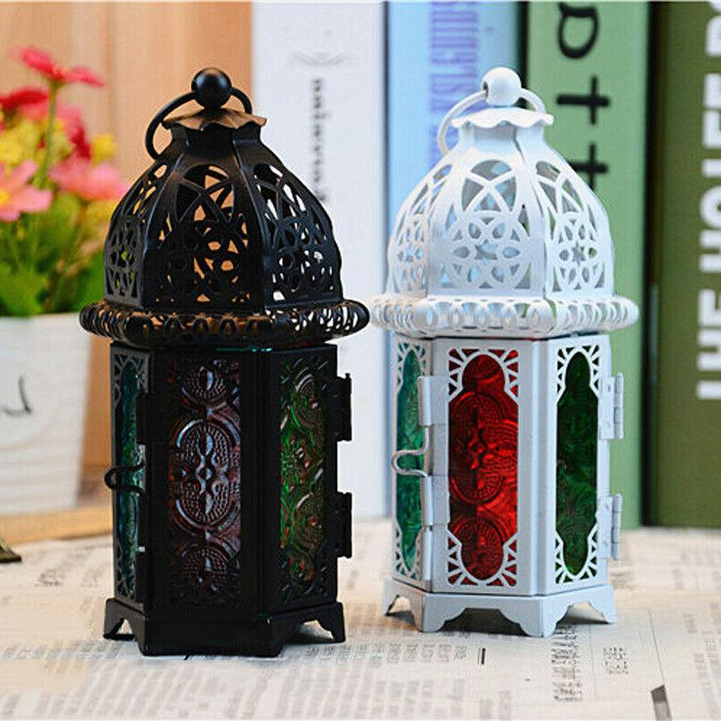 Moroccan Lamp Votive Candle Hanging Decor
