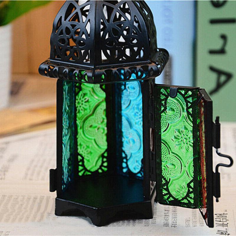 Moroccan Lantern Tea Light Lamp Votive Hanging Home Wedding