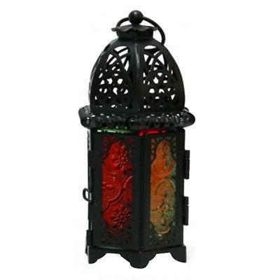 US Moroccan Hollow Wedding Hanging Candle Holder