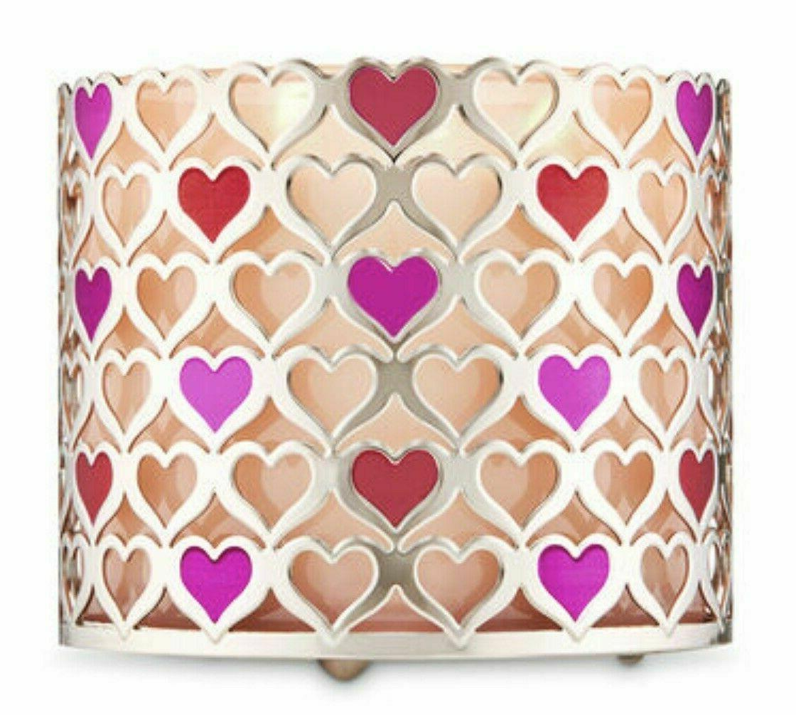 new bath and body works metal hearts