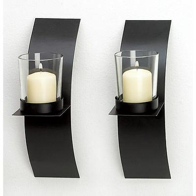 new modern wall sconce candle holder set