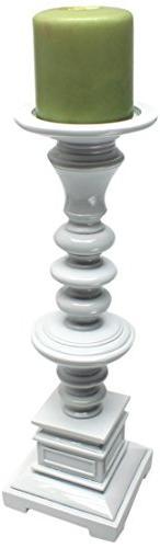 Design Toscano Nina 14-Inch Hand-Crafted Candleholder, Mediu