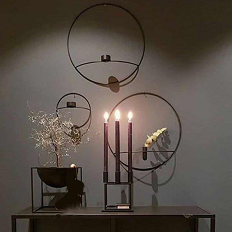 Nordic Decoration Candle Holder Sconce