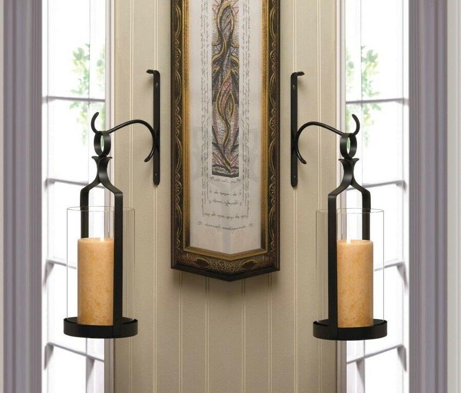 pendant hurricane sconce candle holder wall decor