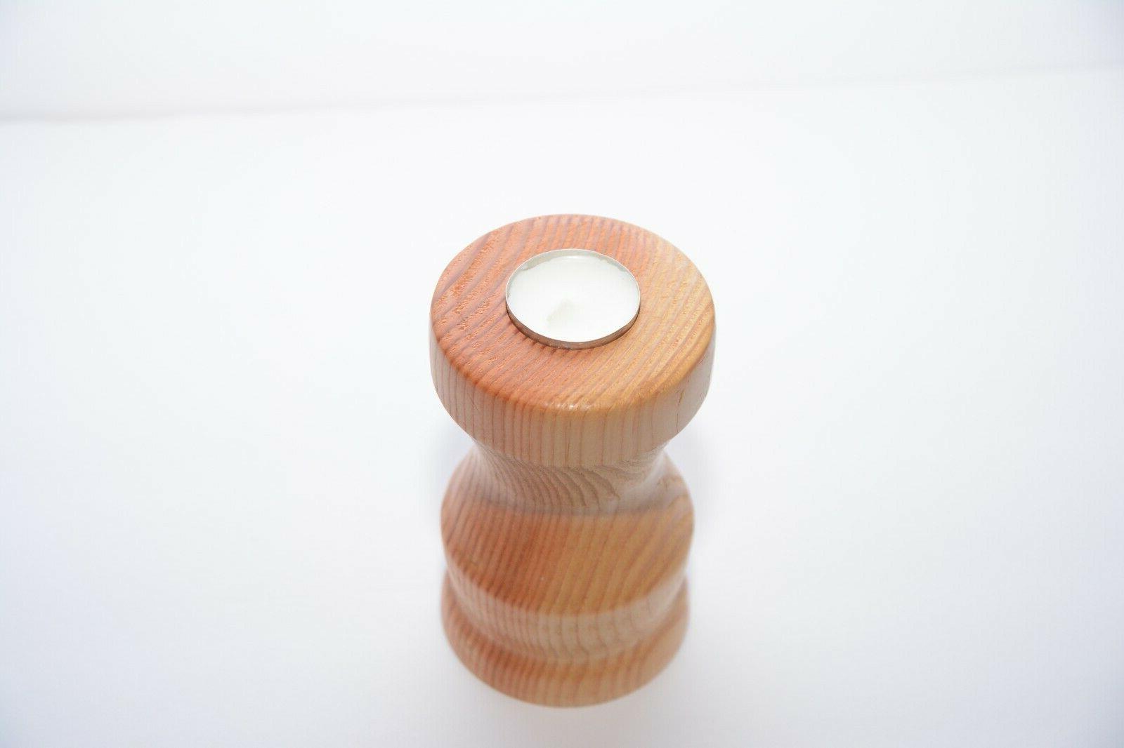 Handmade pillar holder