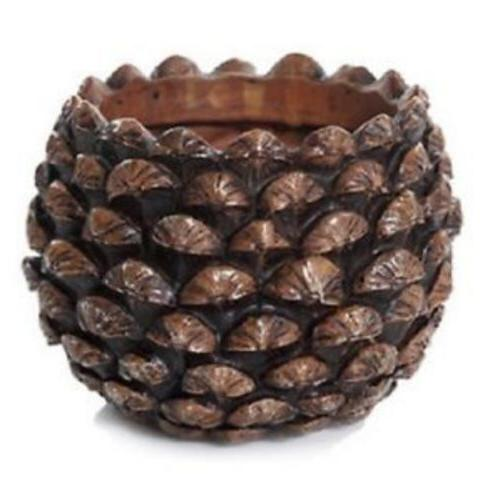 Yankee Candle Pine Cone Jar Candle Holder - Fits Large & Med