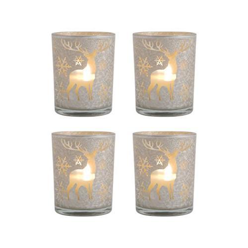 pomeroy reindeer pillar holders