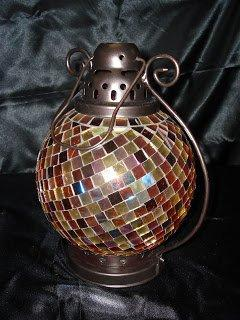 Retired Partylite Global Fusion Lantern Candle Holder