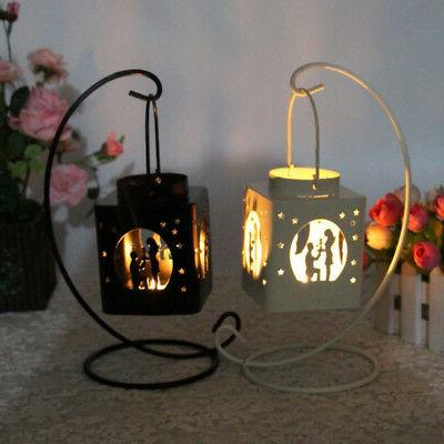 Romantic Candle Holder Cage Love Party