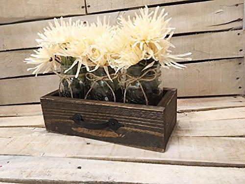 rustic reclaimed wooden drawer