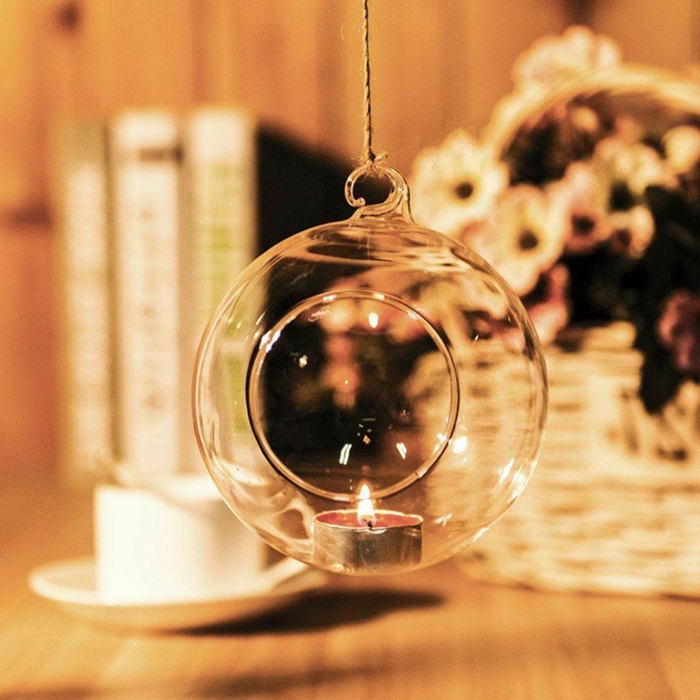 Set 12 Globe Hanging Candle