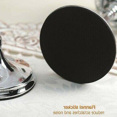VINCIGANT Silver Cylinder Ball Crystal Holder Tab...
