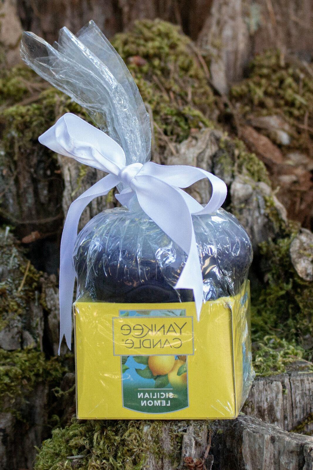 sicilian lemon tea lights 12 pack