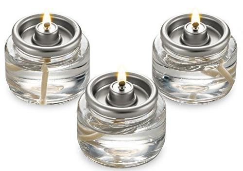 Tealight Fuel Cells Liquid Paraffin 8 Hour Burn - 20 Pack -