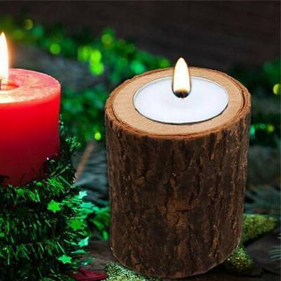 Wooden Pillar Holder Stand Candlestick Party Wedding Decor