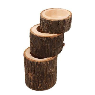 Tree Holder Wood Light for Candlelight Decor