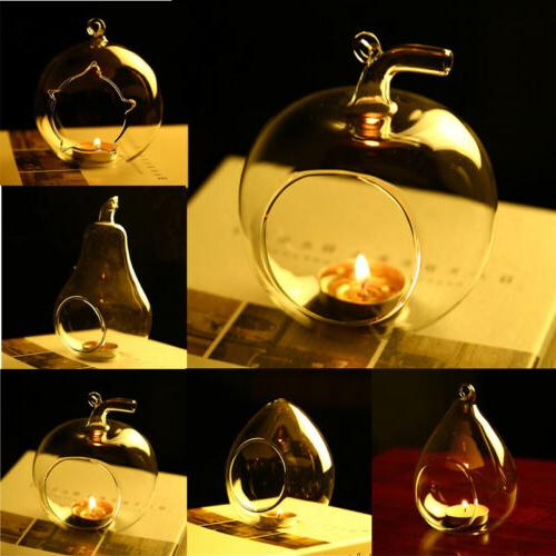 us stock candle holder hanging clear globe