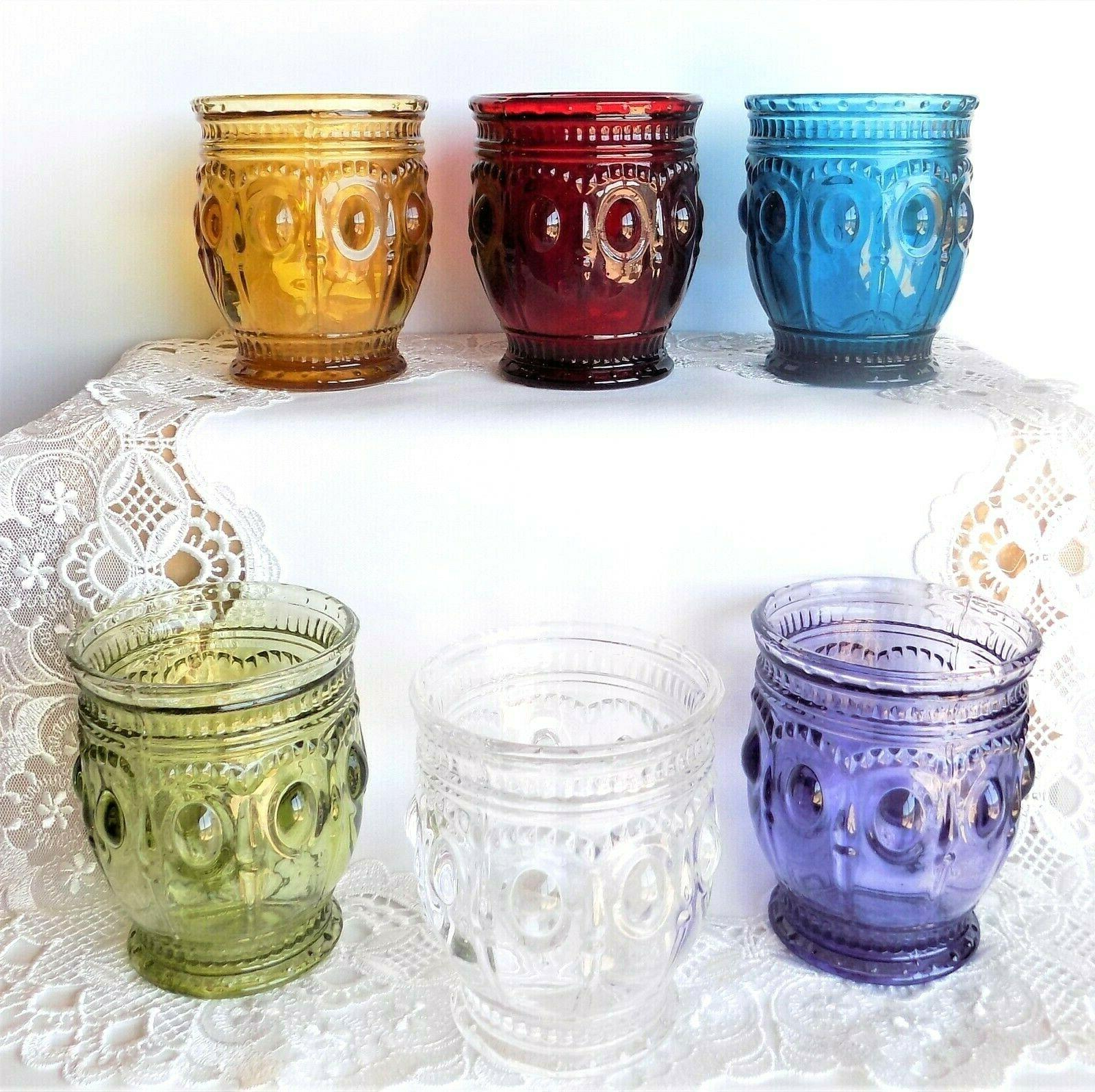 vintage charm candle holders 6 colors to