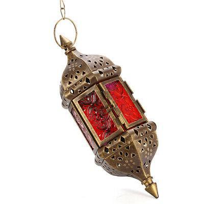 Vintage Candle Holder Moroccan Lantern Home Decor