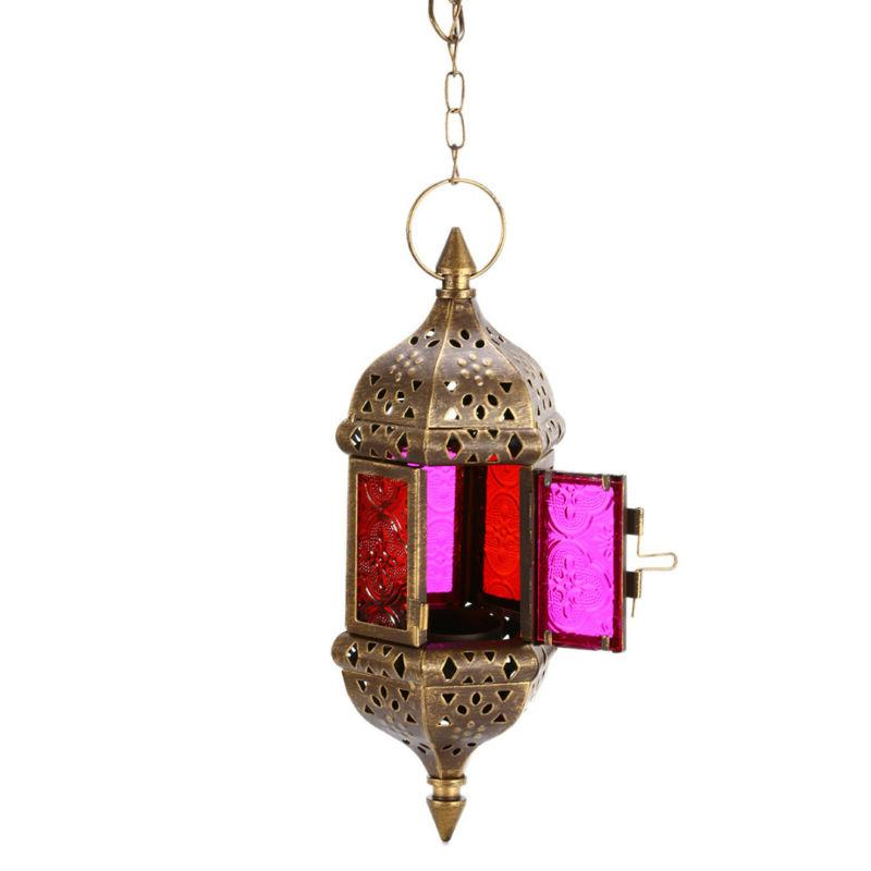 Vintage Tea Holder Moroccan Lantern Home Decor