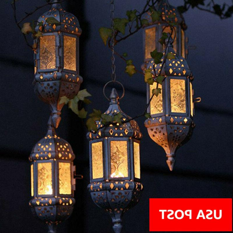 vintage tea light candle holder moroccan hanging