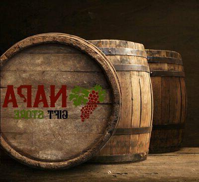 Napa Gift Store Wine Made Oak Barrel Stave