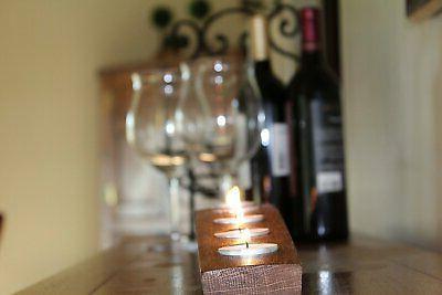 Napa Gift Wine Barrel Candle Barrel