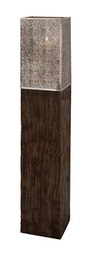 Wood Metal Floor Hurricane 8w, 43h