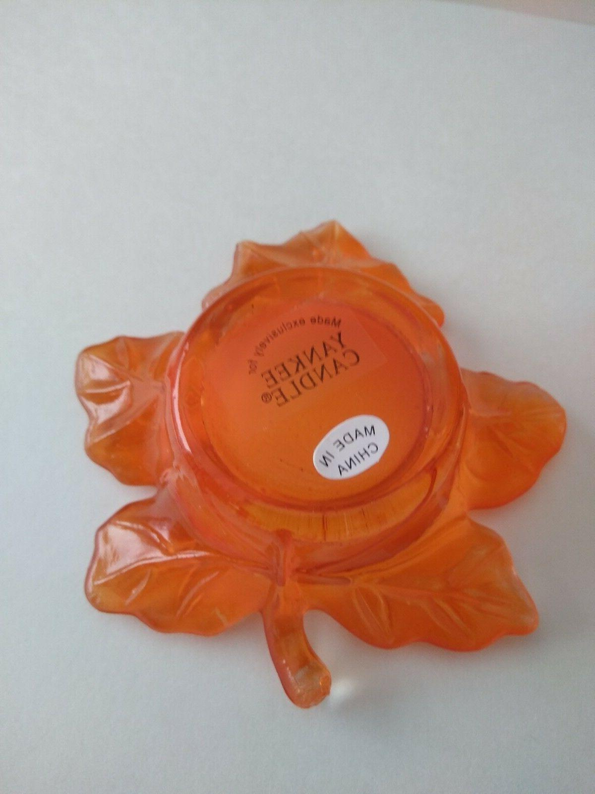 Yankee Tea Light Candles Autumn Leaves of 8 candle holder