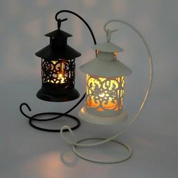 Lantern Tealight Candle Holder Stand Wedding Party Candle Li