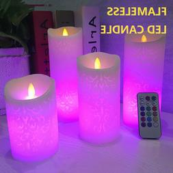 LED Flameless candles with remote Battery Operated Tea Light