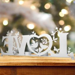 BANBERRY DESIGNS Love Candle Holder - Tea Light Candle Holde
