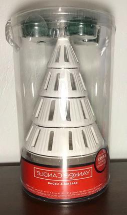 Yankee Candle LUMINARY TREE TEA LIGHT HOLDER GIFT with 4 BAL