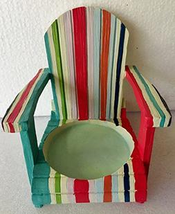 Yankee Candle Margaritaville Striped Adirondak Chair Large J