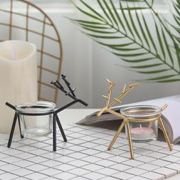 Metal Candle Holder Tealight for Party Home Table Christmas