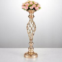 Metal Candle Holder Wedding Flower Table Decor Vase Centerpi