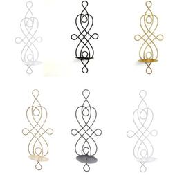 Metal Candle Holders Candlestick Wall Candle Holder Iron Art