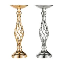 Metal Wedding Flower Table Decor Candle Holder Vase Centerpi