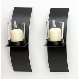 modern candle holder wall sconce