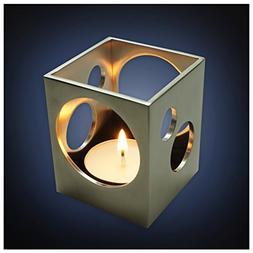 ArtsOnDesk Modern Art Tea Light Holder St213 Stainless Steel