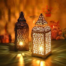 Moroccan Lantern Tea Light Lamp Candle Holder Hanging Home G