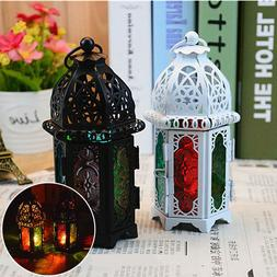 Moroccan Lantern Tea Light Lamp Votive Candle Holder Hanging