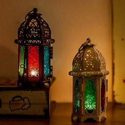 Moroccan Lantern Tea Light Lamp Candle Holder Hanging Home G