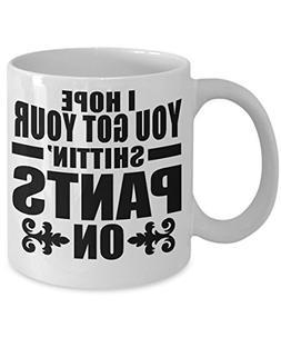 Negan Quote Mug - I Hope You Got Your Shittin Pants On - Pre