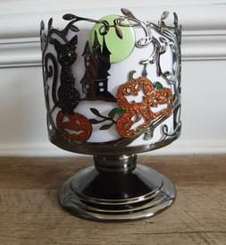 NEW Bath & Body Works 3 Wick Candle Holder Halloween Spooky