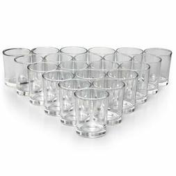 NEW Glass Votive Candle Holders Set of 72 - Clear Tealight C
