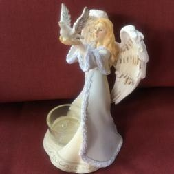 NEW Yankee Candle Heavenly Angel With Dove Tealight Holder #